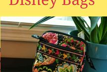 Disney Vera Bradley Pattern Bags