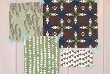 Pattern and Palette Fabric Notebook-Eau de Nil / See what fabrics from the étoile home collection goes well with your favourites.
