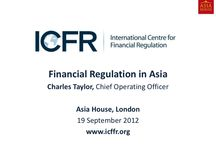Financial Regulation in Asia