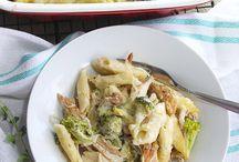 Pasta / Forskellige pastaretter