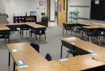 Classroom Organization and Layout / Education: tips for organizing the classroom and layout ideas / by Cheryl Key