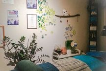 StudioZofina / Small studio, how I have used a small room to fit different purposes.  With imagination and creativity a small room can turn into a full beauty salon,nailstudio