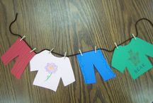For the kids ....  / Activities and items which feature clotheslines, geared for children