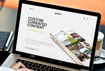 Home page of web-site / Best designs of home pages and banners of web-sites