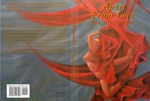 My Books / This board displays the literary work by the poet, writer and artist Uvi Poznansky