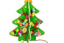 Kerst spellen, Knutselen en Cadeau's / De leukste spellen knutseltips en materiaal om in de kerstvakantie je kids te vermaken!