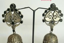 925 Sterling Silver temple Jewellery / 92.5% Sterling Silver Jewellery Specially handmade temple Jewellery