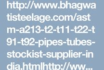ASTM A213 Seamless tubes Manufacturers in India