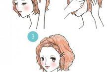 簡単おしゃれヘアアレンジ