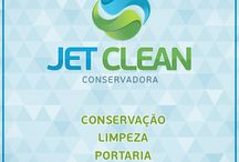 Conservadora Jet Clean / Prestação de serviços terceirizados nas áreas de conservação, limpeza, portaria e vigilância desarmada.