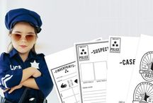 Police station theme