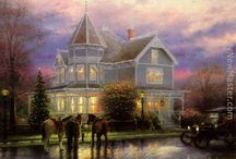 ART Thomas Kinkade  / Rest in peace. April 7, 2012 / by Willie Lamb