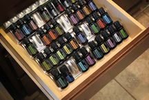 Essential oils storage ideas