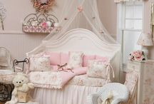 Newborn's first room. Cute and pretty. / by Tina