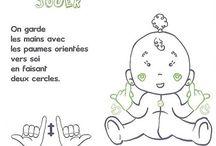 Langage des signes bébé
