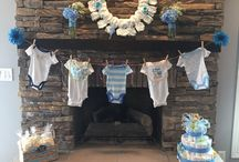 Baby shower for a boy