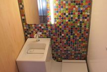 space bathroom / by Katy 'Sabot' Shalaby