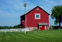 Barn Quilts / I really want to make a quilt for our pole barn! / by Sherri Osborn {Family Crafts}
