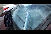 Тонировка автостекол атермальной прозрачной пленкой / Хотите защитить салон авто от жары, при этом не утратить прозрачность стекол? Атермальная тонировка это решение двух задач. Прозрачный многослойный пленочный материал, гораздо эффективнее снижает интенсивность нагрева салона, чем привычная черная тонировка. Плюс тонировать можно все стекла, без проблем с ГИБДД. Еще один положительный момент, после установки пленки стекла приобретают легкий красивый синий оттенок, прекрасно снимают блики, усиливают яркость и четкость изображения из салона.