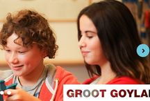 Groot Goylant and CritterKin / A visit with 8th graders and their teacher Joyan Pompier at Groot Goylanad school in the Netherlands.