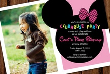 Invitations minnie Mouse