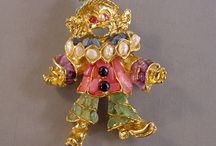 Brooch ~ CLOWN