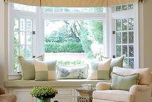 Window seat comfort ideas