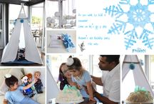 Frozen party ideas / Birthday party ideas for a Disney Frozen themed girls birthday. Amazing cakes, food and treats, DIY decorations, pinatas, lovely invitations and everthing else that you will need for your childs birthday celebration