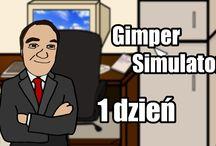 #01 GIMPER SIMULATOR (THE GAME) - Damian Rodzen TV :D