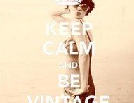 Vintage--my love <3 / by Bridget McDowell