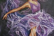 Dance drawing/painting