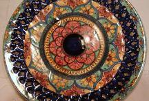 Piatto murale Mandala 32cm