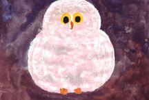 """eine kleine weiße Eule / Die schönsten Bilder aus dem Ebook """"Die kleine weiße Eule"""" von Bettina Korte (gibt es im iBookstore)"""
