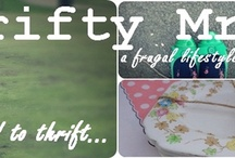 Blogs I Read - Thrifty and Thrifting / by Amanda Gilliland