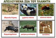 απειλουμενα ζωα του πλανητη