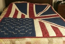 "Quilts / For my UK friend ""It's just a pond"" quilt.  / by Melissa Green"