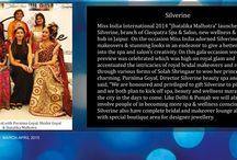 Silverine spa & salon covered in Ravishing magazine.
