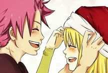 Christmas/New Year FT / Fairy Tail pictures/fanarts - Christmas, New Year