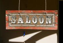 Party / Fête saloon ideas