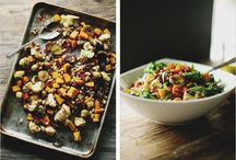 Fall Foods / Comforting foods in season and on the table.
