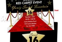 Red carpet birthday party  / Emma's 14th Birthday Party