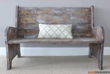 DIY Furniture For a Beautiful Foyer