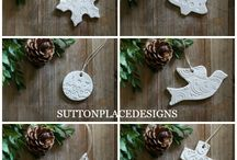 Clay christmas step by step