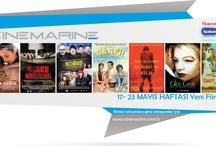 17 Mayıs Haftası Cinemarine'de izleyebileceğiniz Yeni Filmler