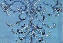 blusas decoradas en piedreria Flor