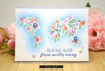 Floral World Stamp Set