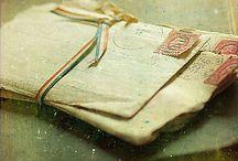 Oude brieven en post