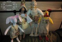 lalki i maskotki / moja mała twórczość