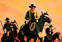 western paperback art