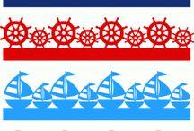корабли, море